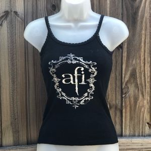 Tops - AFI Fitted tank top
